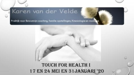 Omslagafbeelding Touch for Health 1